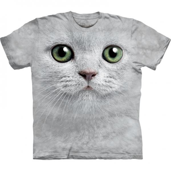 The Mountain T-Shirt  Green Eyes Face